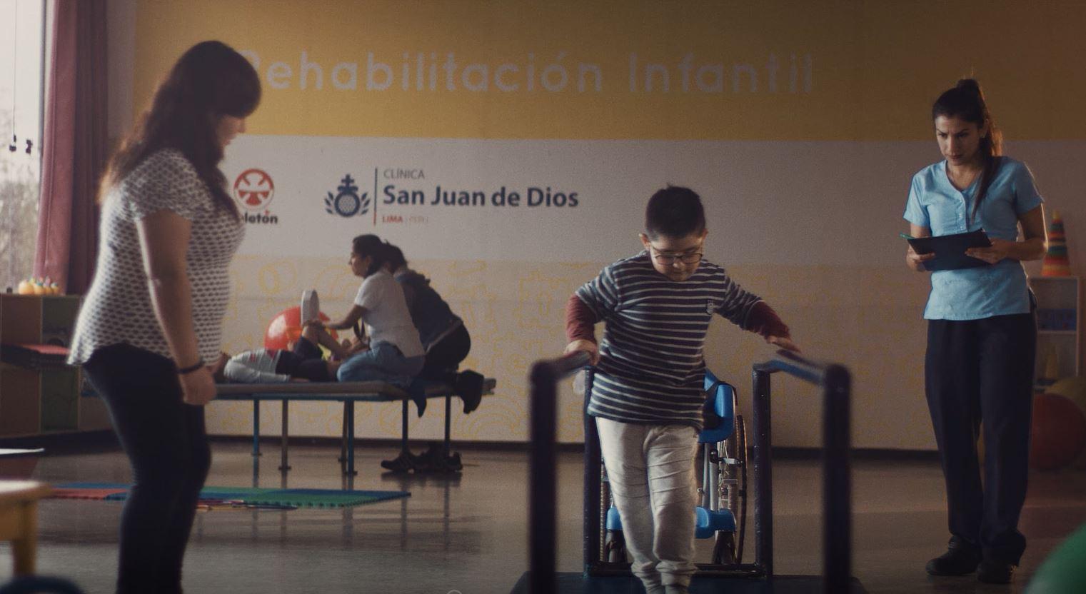 Captura del spot de Teletón Perú